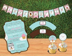 Custom Baby Shower Package, Kari Lind Creations, Overland Park