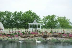 Courtyard, Occasions At Stone River, Royse City
