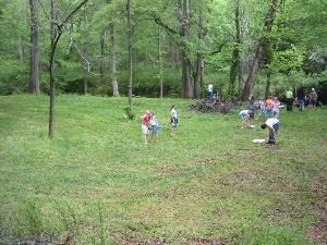 Creeks and Fields, Sleepy Hollow, Clemson — Outdoor fun with horse shoes available along with other yard games.  Hiking or creek walking can be fun with nature at your side.