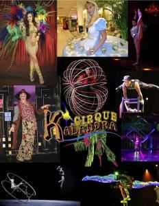 "Cirque Kalandra Productions, Orlando — Cirque Kalandra is a American entertainment company, self-described as a ""dramatic mix of circus arts and theatrical entertainment."" Based in Orlando, Florida , USA.?Initially named Antre Circus they toured USA as a performing troupe celebrations to re-create it as a ""proper circus"". Its theatrical, character-driven approach and of helped define Cirque Kalandra as the contemporary circus.??Each show is a synthesis of styles , with its own central theme and storyline.?They draw the audience the through the full impact of naturalness, extraordinarily style, openness of the Soul.??Cirque Kalandra has had shows in theaters, casinos, theme parks, cruise line.??Cirque also produces a of private and corporate events each year. Join the www.CirquePerformers.com!"