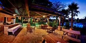 Prefunction Room, T Bar M Resort Hotel & Conference Center, New Braunfels — This outdoor space is perfect for outdoor dining for up to 100 people or a prefunction space like cocktail hour.