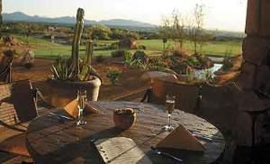 West Patio, McDowell Mountain Golf Club, Scottsdale