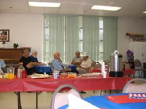 Joslyn Senior Center, Redlands — father day celebration at the Community Senior Center.