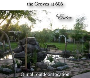 The Groves at 606, weddings and receptions $600-$3900, The Groves Wedding Garden and Reception Center, Mesa