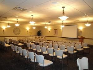 Executive Deli Buffet, Chill Catering And Event Center, Portsmouth — Theater Style- projector, screen, wi-fi, dance floor, surround sound and more available