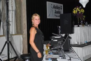Basic music only starts at $400 for 3 or 4 hour event, dj Rad Music Productions, Panama City — dj Rhonda Conrad, music master