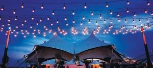 Bistro String Lighting , Arizona Stage Sound & Lights, Peoria — Bistro String Lighting
