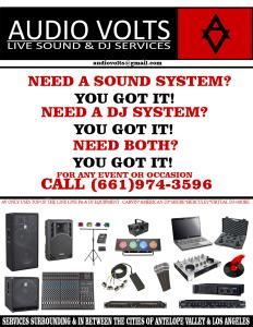 Audio Volts Live Sound & DJ services