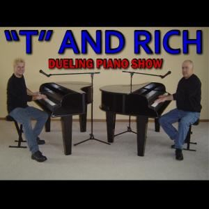 """T"" and Rich Dueling Piano Show, Cleveland"
