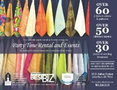Party Time Rental And Events Hot Springs National Park