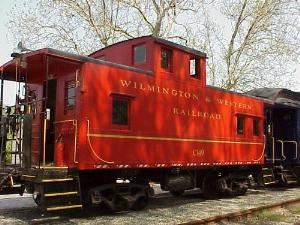 Caboose, Wilmington And Western Railroad, Wilmington