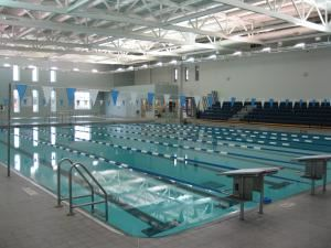 Dolphin Package, Dinah E. Gore Fitness and Aquatic Center, Bolivia — pool and media room only
