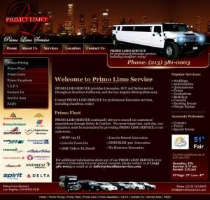 Primo Limo Reservations