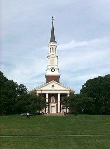 The Memorial Chapel at the University of Maryland