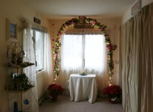Elopement Package, For This Joyous Occasion Officiating Services and Seaside Ceremonies, Point Pleasant Beach — Wedding Arch, Home Office