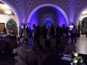 Twin Spin DJ Service, Fayetteville  Banquet in The Orangery, Cape Fear Botanical Gardens, Fayetteville, NC.
