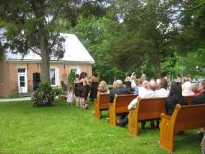 Outdoor Venue, The Historic Meeting House At New Garden, Fountain City