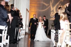 Silver (Ceremony) Package, X-Pert Productions, Baton Rouge — Down the Isle