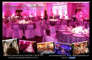 Wedding Promotion, Reception Palace Ballrooms, Miami — Collage