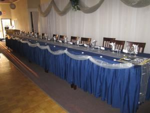 "Wedding Buffet Package, Hunters Green Golf Club, Edmonton — Linens by ""Living The Dream Linens"""