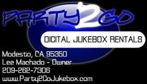 Party2Go Digital Jukebox Rentals