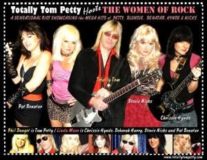 Totally Tom Petty Hosts the Women of Rock