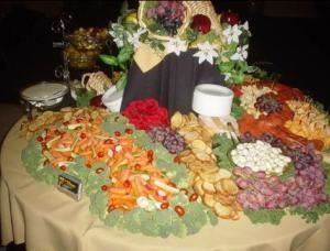 Deluxe Wedding Buffet Package, Raymond's Catering, Blue Bell