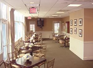 Ryder Cup Room, Chelsea Piers Sports & Entertainment, New York — Standard Configuration.