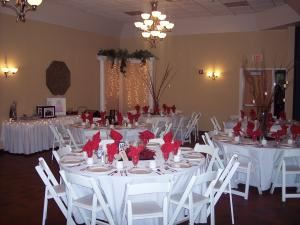 Banquet Package, Barber & Oberwortmann Horticultural Center, Joliet — Banquet Hall Photo