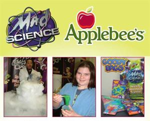 Mad Science Birthday Party, Applebee's - Yonkers, Yonkers — Mad Science Party