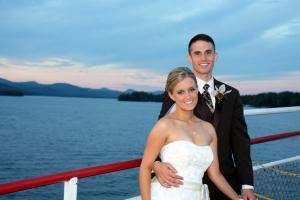 Sapphire Wedding Package, Lake George Steamboat Company, Lake George