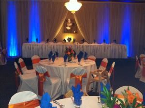 Silver Reception Package (starting at $29 per person), Pi Banquet Hall, Southfield