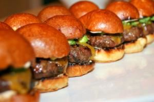 Slider Bar, Tortoise and Hare Events and Catering, Arlington — Sliders