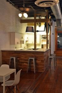 Weekday Evening Rental Package, Coze Event Space, Atlanta — Coze bar area. Pull up a stool and have a cocktail!