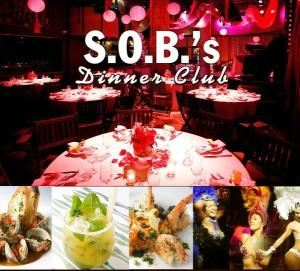 Celebration Dinner Package, SOB's, New York