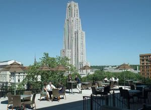 Roof Top Terrace, The University Club At The University Of Pittsburgh, Pittsburgh
