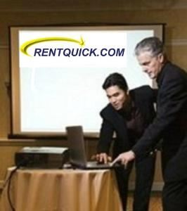 RentQuick, Charlottesville — Projectors, Laptops, Screens & PA Systems for far less than hotel & convention centers.