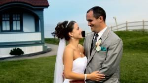 Bowman Productions, South Portland — A shot from one our exciting wedding films.