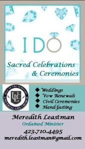 I DO! Sacred Celebrations & Ceremonies