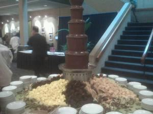 Full Service Large Chocolate Fondue Fountain (250 to 350 guests), The Chocolate Chick, Herndon