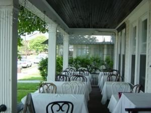 Secret Garden Restaurant, The Manchester Inn Bed And Breakfast, Ocean Grove