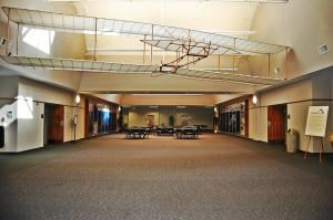 The Atrium At National Composite Center, Dayton — The Atrium is perfect for all sorts of events such as meetings, trade shows, banquet dinners; or can be used for lunch when you book the auditorium!