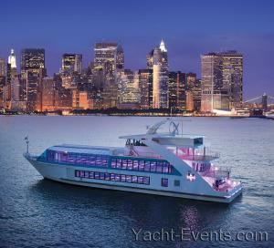 "On A ""Yacht"" Dining Has The Added Beauty Of Having Manhattan As Your Backdrop! 150-299 Guests, Yacht Events By Steven Tanzman, New York"