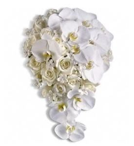 Style and Grace Bridal Bouquet, Agape Flowers & Gifts, Gaithersburg — Style and Grace Bouquet