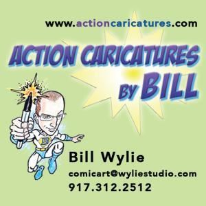Action Caricatures by Bill