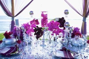 Deluxe Package #4, Glamorous Centerpieces Rentals, Scottsdale — Head Table Idea.