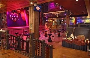 House of Blues Hosted Bar Packages (starting at $33 per person), House Of Blues & Foundation Room Las Vegas, Las Vegas — Music Hall Lower Level (Reception Style)