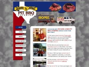 Richard Jones Pit BBQ Catering