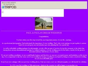 Paul and Paula's Dream Weddings