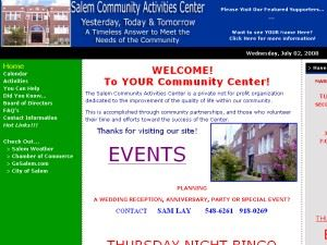 Salem Community Activities Center